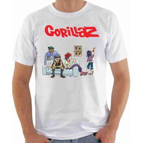 Camiseta Camisa Blusa Banda Gorillaz