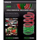 Espirales Resortes Progresivos Vw Golf 96/98 Rm Delanteros