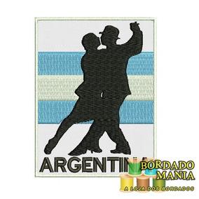 Bordados Turismo Argentina, Irlanda, Bélgica, Peru, Espanha