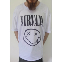 Camiseta Nirvana (masc/fem) Nevermind, In Utero, Bleach, Inc
