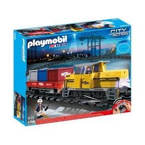 Playmobil 5258 Tren Eléctrico Rc Escala Ho Control Remoto