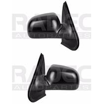 Par Juego Espejos Ford Explorer 1995 - 2001 Manual Negro Rxc