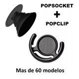 Popsockets + Popclip Combo Para Iphone, Samsung, Blu, Tablet
