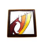 Quadro Tela Pintura Artistica Alto Relevo Desenho Colorido