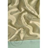 Tecido Jacquard Azul Tiffany E Dourado Liso 1m X 2,8m Festas