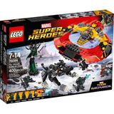 Lego Marvel Super Heroes La Ultima Batalla De Asgard 400 Pzs