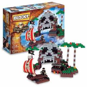 Blocky Isla Pirata Para Construír Nenes 340 Piezas