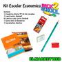 Kit / Set / Combo Escolar 5 Piezas Super Economico Nro 1