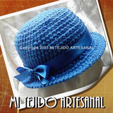Capelinas Y Sombreros Tejidos Al Crochet