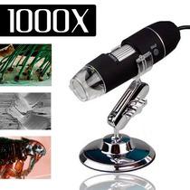 Microscópio Digital Usb 1000x Hd Frete Barato Envio Imediato