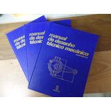 Lote De Livros - Manual De Desenho Mecânico 1, 2 E 3