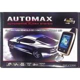 Alarma Automax Digital De 2 Vias Antiescaner Larga Distancia