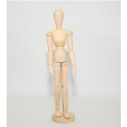 Boneco Articulado Madeira Desenho Manequim 30 Cm Modelo
