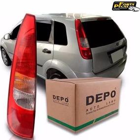 Lanterna Ford Fiesta Hatch 03 04 05 06 Lado Esquerdo Depo