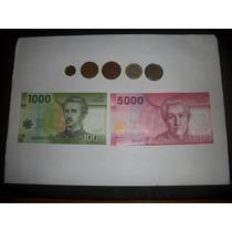 Monedas Y Billetes Chilenos - De Coleccion