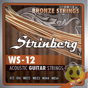 Encordoamento Violao Aco 012 Strinberg Ws12 - Kadu Som