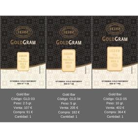 Lingote De Oro 24 Kts 5 G Gramos 999 Pureza. Eagle Aurum