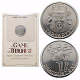 Moneda Juegos De Trono Plata .999 Aegon Targaryen Frikishop