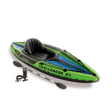 Kayak Individual Inflable Intex Challenger K1 68305 Con Remo