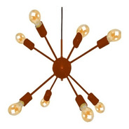 Pendente Lustre Moderno Sputnik Átomo 8 Lampadas E27
