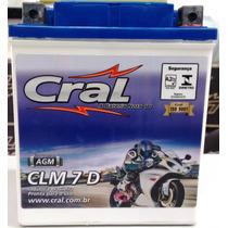Bateria Fazer 250 Ys Fazer 250 Todas + Forte 7ah Clm7d