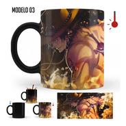 Taza Mágica One Piece Luffy, Zoro, Ace   Varios Modelos