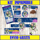 2x1 Kit Imprimible Buzzlightyear Invitaciones + Regalo