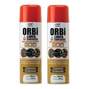Kit 2 Spray Limpa Contatos Elétricos Orbi Quimica 300ml