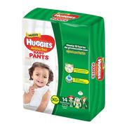 Pañales Huggies Active Sec Baby Pants Talle Xg X 14 Unidades