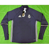 Buzo Real Madrid Azul adidas Nuevo Talle L Champions