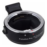 Adaptador Automatico P/ Lentes Canon Eos En Camaras E-mount