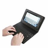 Capa Teclado Universal Tablet 9/10 Polegada Usb Caneta Touch