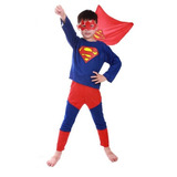 Fantasia Infantil Super Heróis Superman Frete Grátis