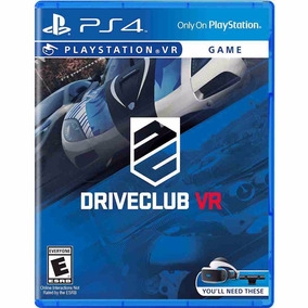 Combo 2 Juegos Driveclub Vr Y Until Dawn: Rush Of Blood Vr