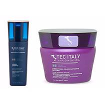 Shampoo Lumina Tec Italy Matizador + Mascara Matizadora Roxa