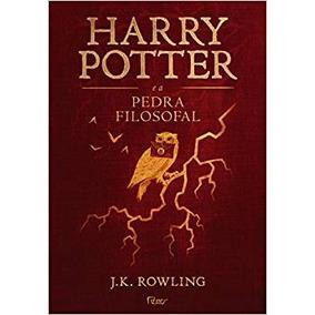 Harry Potter E A Pedra Filosofal Capa Dura