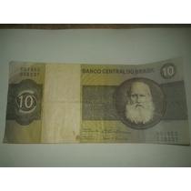 Billete De Brasil. 10 Dez Cruzeiros 1970-1980