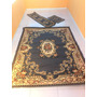 Tapetes Floral Aubosson Blue - Made In Egypt