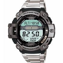 Relógio Casio Outgear Sgw-300-hd Altimetro Barometro Aço Pt
