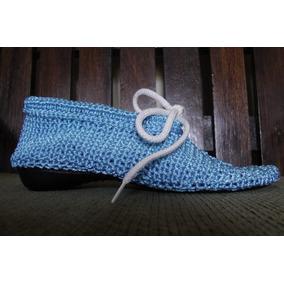 Sandalia Azul De Vestir Y Casual Cómoda