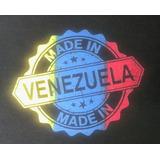 Franelas Estampadas Venezuela Efecto Degradado.