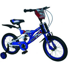 Bicicleta Infantil Aro 16 Montana C/ Amortecedor No Quadro