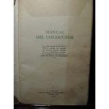 Manual Del Conductor Siam Di Tella Ed 1961