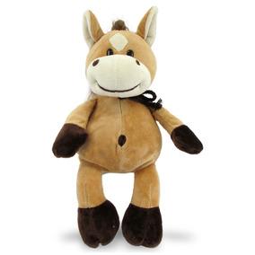 Cavalo De Pelúcia 35 Cm - Cavalinho Com Lacinho