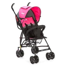 Carrinho De Passeio Bebê Menina Umbrella Spin Rosa Infanti