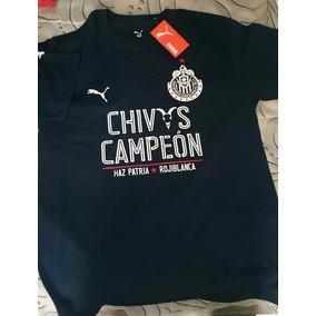 Playera Chivas Guadalajara Campeón (envío Gratis)