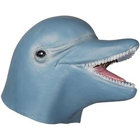 Máscara De Cabeza Completa Del Traje Del Delfín De Hallowee
