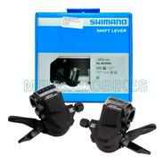 Shifters Shimano Acera 3x9 - Sl-m3000 - Visor De Marchas - Cables Y Fundas - En Caja