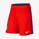 Calção Da Inglaterra Seleção Inglesa Shorts Branco Vermelho