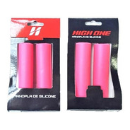 Manopla High One Silicone 135mm Rosa